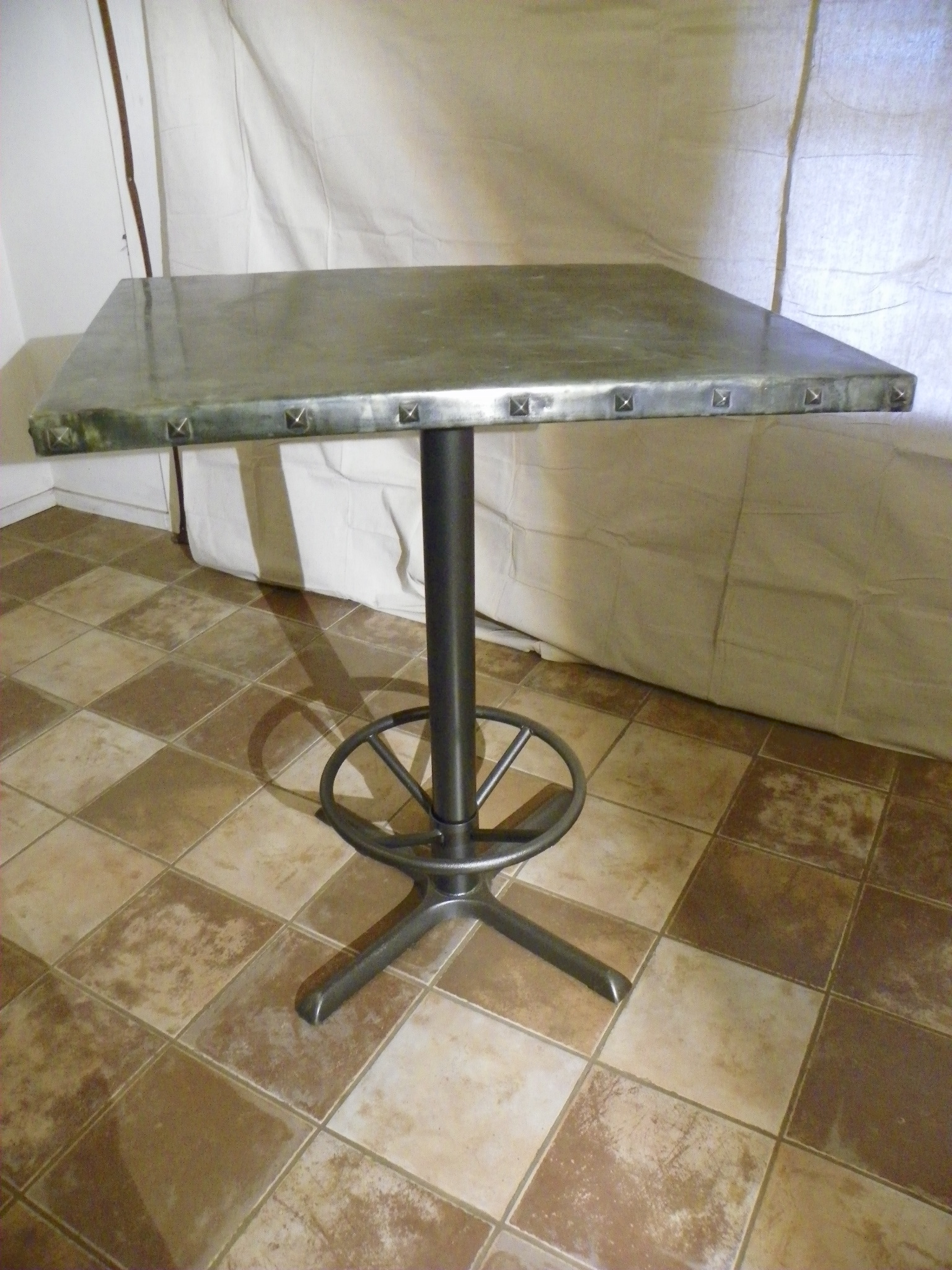 zinc table Stissing Design