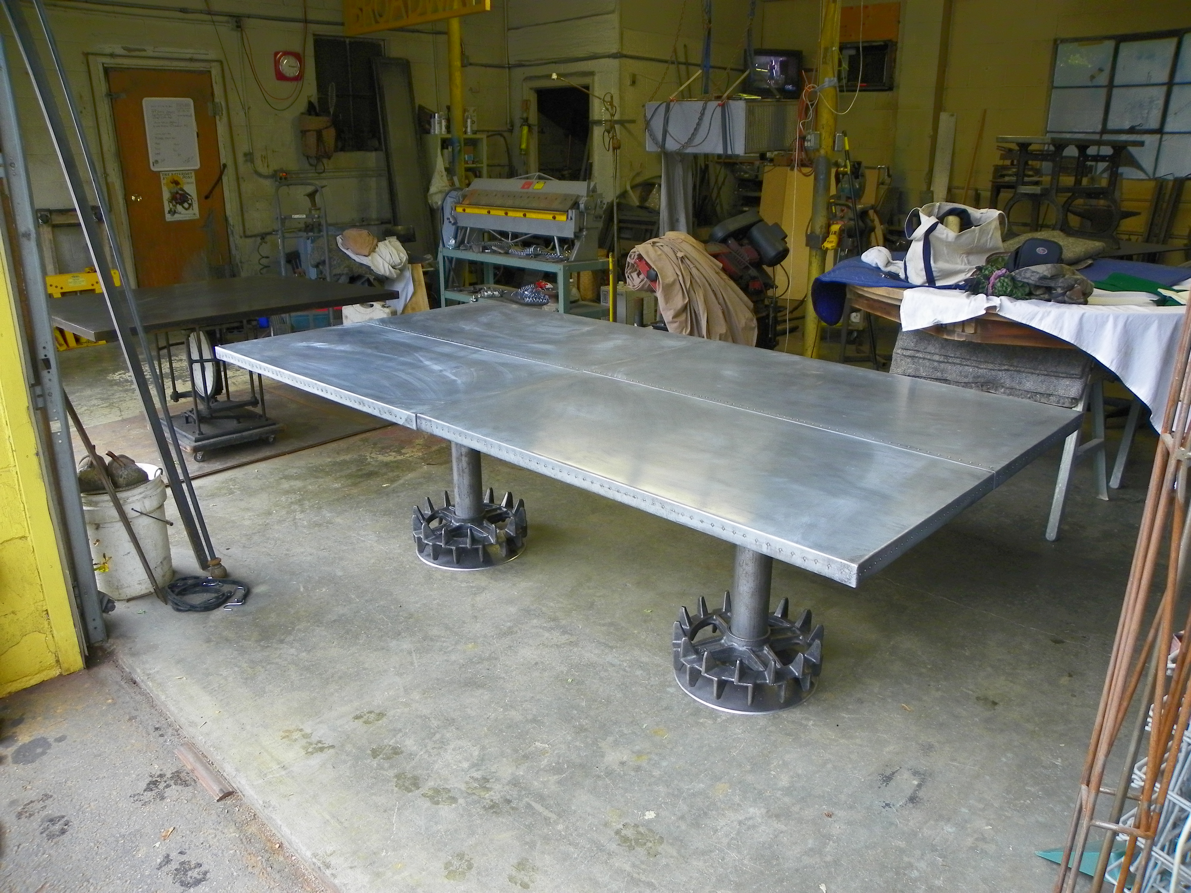 zinc tables Stissing Design